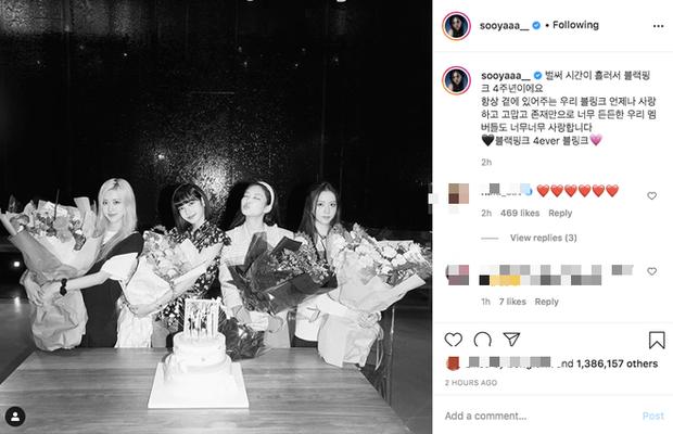 Đúng dịp kỷ niệm, những hình ảnh hậu trường thời debut của BLACKPINK cách đây 4 năm bất ngờ được hé lộ khiến fan bồi hồi - Ảnh 14.