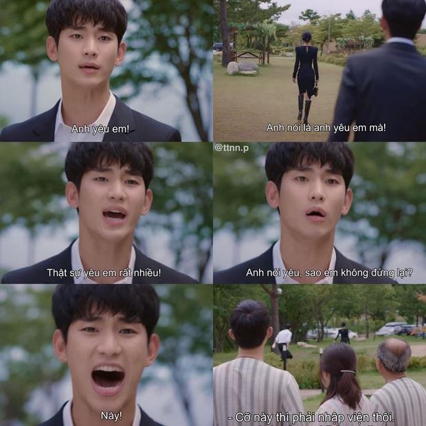 5 lần tự vả vì crush của Kim Soo Hyun ở Điên Thì Có Sao, phim vừa hết là liêm sỉ anh cũng rớt sạch! - Ảnh 2.