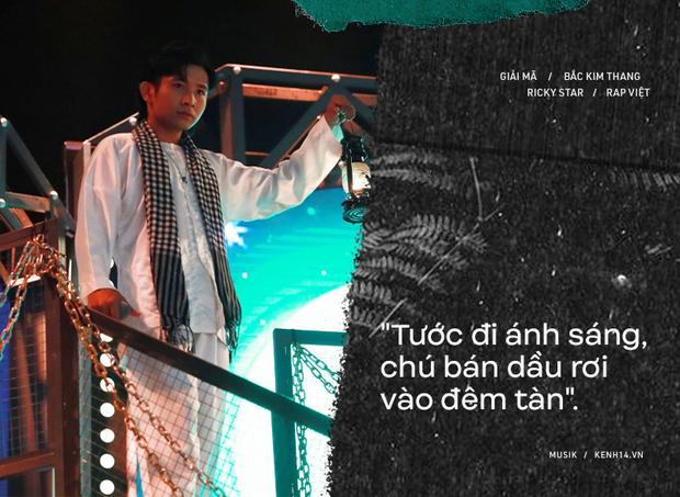Lạnh người câu chuyện tâm linh phía sau bản rap Bắc Kim Thang của Ricky Star tại Rap Việt - Ảnh 4.
