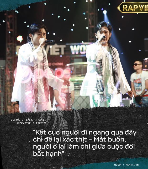 Lạnh người câu chuyện tâm linh phía sau bản rap Bắc Kim Thang của Ricky Star tại Rap Việt - Ảnh 5.