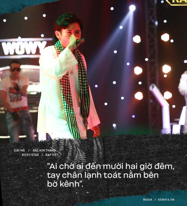 Lạnh người câu chuyện tâm linh phía sau bản rap Bắc Kim Thang của Ricky Star tại Rap Việt - Ảnh 6.