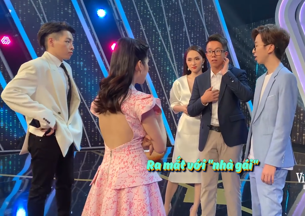 Clip: Matt Liu nắm tay Hương Giang không rời, kiên nhẫn chờ ở hậu trường Người ấy là ai - Ảnh 4.