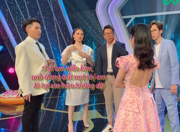 Clip: Matt Liu nắm tay Hương Giang không rời, kiên nhẫn chờ ở hậu trường Người ấy là ai - Ảnh 3.