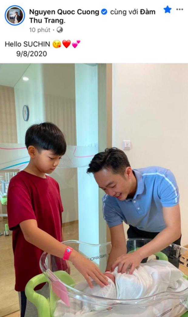 HOT: Đàm Thu Trang chính thức hạ sinh con gái đầu lòng cho Cường Đô La - Ảnh 2.