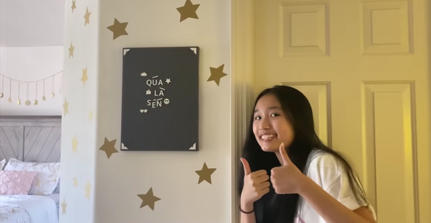 Phòng ngủ quá là sến của Jenny Huỳnh ở Mỹ: Đã có thiên đường riêng lại còn được tự decor từ A đến Z - Ảnh 4.