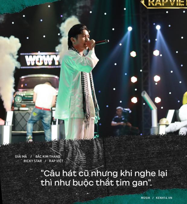 Lạnh người câu chuyện tâm linh phía sau bản rap Bắc Kim Thang của Ricky Star tại Rap Việt - Ảnh 2.