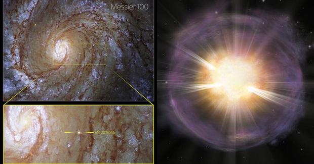 Canxi trong răng và xương của bạn từng đến từ một vụ nổ supernova trong vũ trụ - Ảnh 2.
