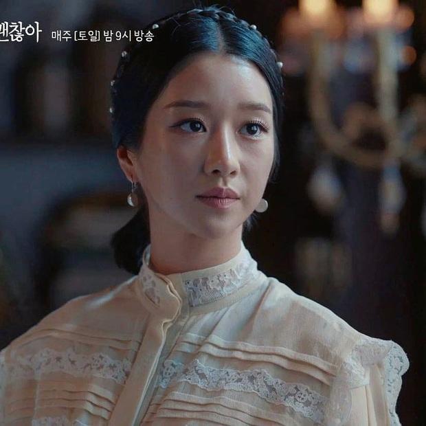 Đụng độ Seo Ye Ji, con dâu vua sòng bài Macau cũng phải lép vế: Điên nữ thắng thế toàn tập chỉ nhờ kiểu tóc sang chảnh - Ảnh 4.