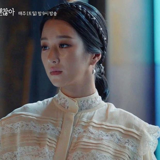 Đụng độ Seo Ye Ji, con dâu vua sòng bài Macau cũng phải lép vế: Điên nữ thắng thế toàn tập chỉ nhờ kiểu tóc sang chảnh - Ảnh 5.