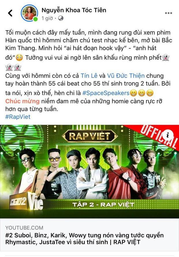 Tóc Tiên hé lộ ông xã Touliver là người hát đoạn mở đầu đầy ma mị trong Bắc Kim Thang của Ricky Star - Ảnh 5.