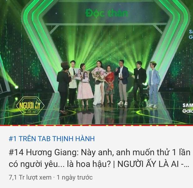 Cặp đôi Hương Giang - Matt Liu giúp Người ấy là ai đánh chiếm top 1 trending YouTube - Ảnh 5.