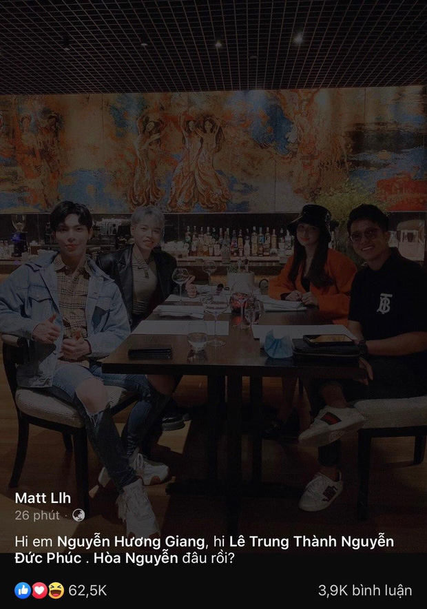 Matt Liu đăng nhẹ tấm hình với Hương Giang sau ồn ào hi em, dân tình lập tức vào bão like tới tấp - Ảnh 4.