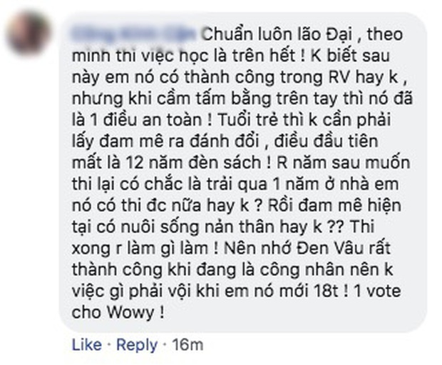 Lão đại Wowy gây tranh cãi tại Rap Việt khi khuyên thí sinh nên chọn Đại học thay vì Rap - Ảnh 9.