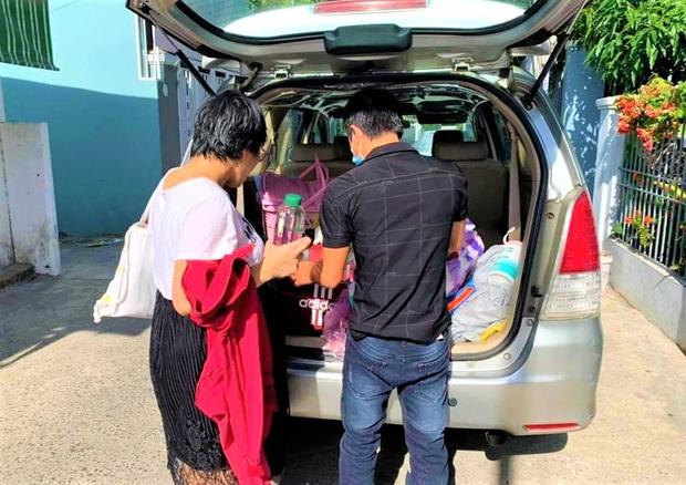 Ấm lòng đội xe chuyên chở bà bầu đi sinh miễn phí giữa tâm dịch Covid-19 ở Đà Nẵng - Ảnh 6.