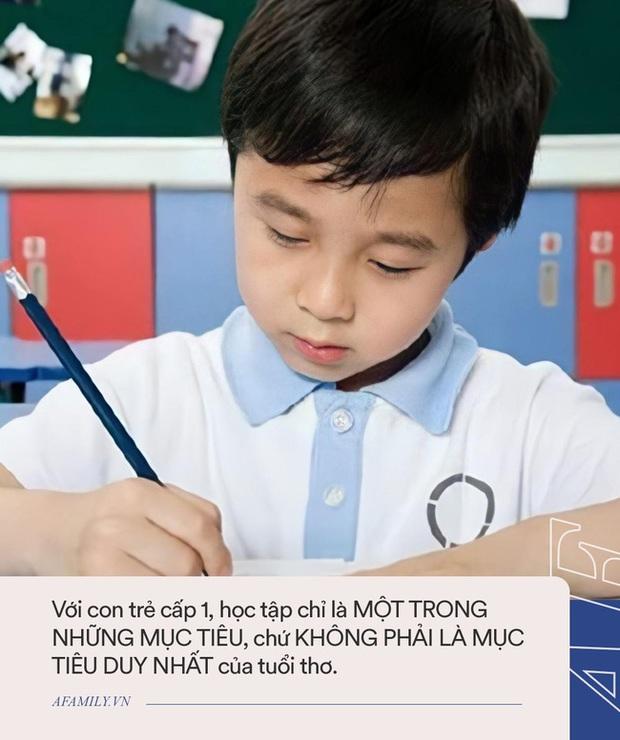 Bài viết không lãng phí của bạn 1 giây nào khi đọc của Tiến sĩ giáo dục gửi tới cha mẹ đang có con học cấp 1 trước thềm năm học mới - Ảnh 1.