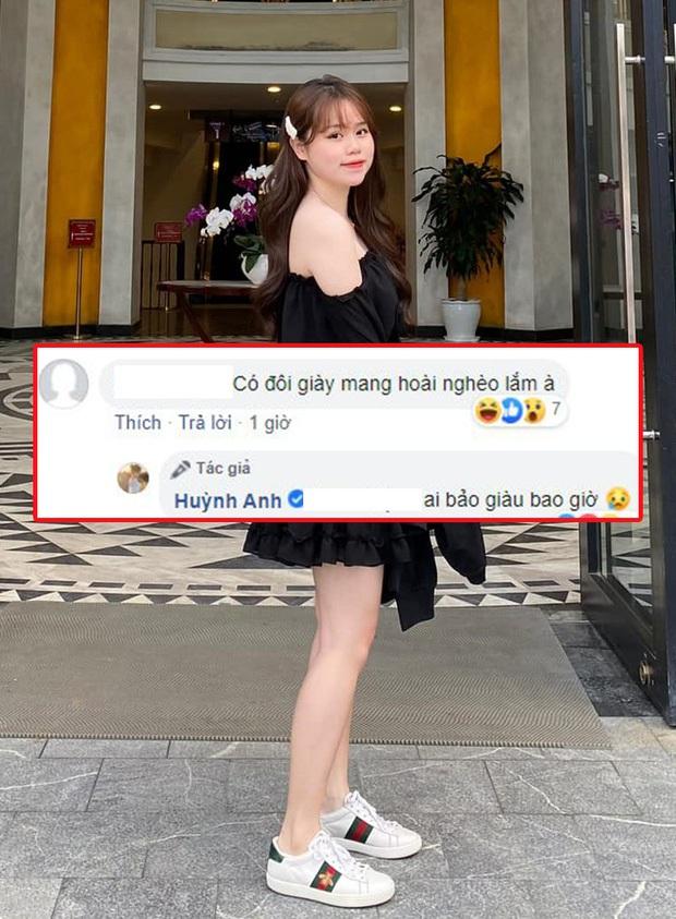 Xem cách Huỳnh Anh - bạn gái Quang Hải xử hater mà phục: Im lặng khi cần, một khi đã lên tiếng thì luôn cứng! - Ảnh 1.