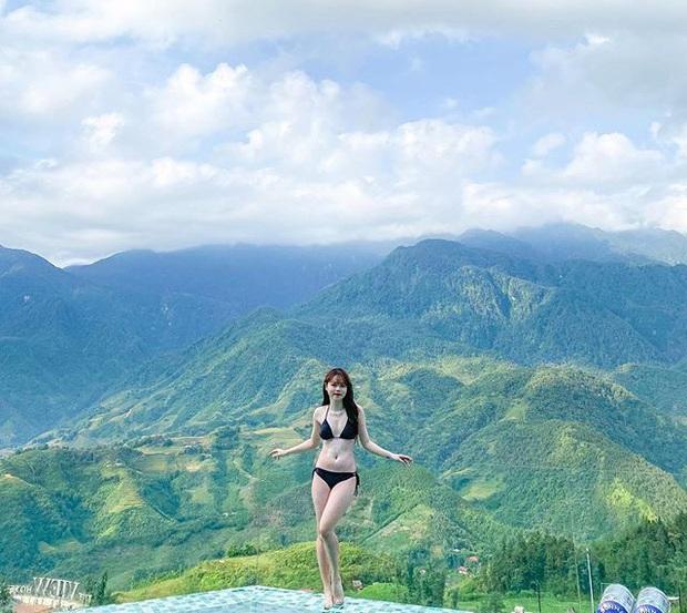 Bạn gái Quang Hải diện bikini sexy khoe body nóng bỏng, chân dài miên man giữa đất trời Sa Pa - Ảnh 1.