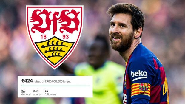 Choáng: CĐV đội bóng Đức huy động gần 1 tỷ euro để mua... Messi - Ảnh 1.