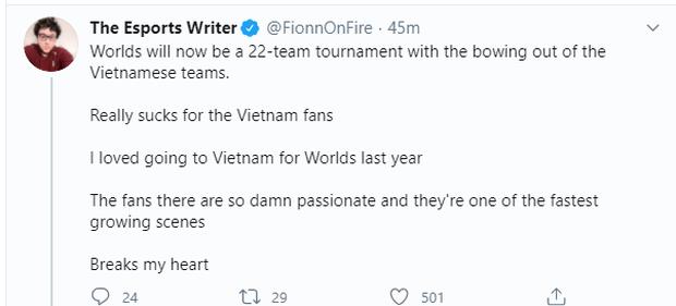 Rộ tin 2 đội Việt Nam không dự CKTG, fan quốc tế nháo nhào tranh suất - Ảnh 3.