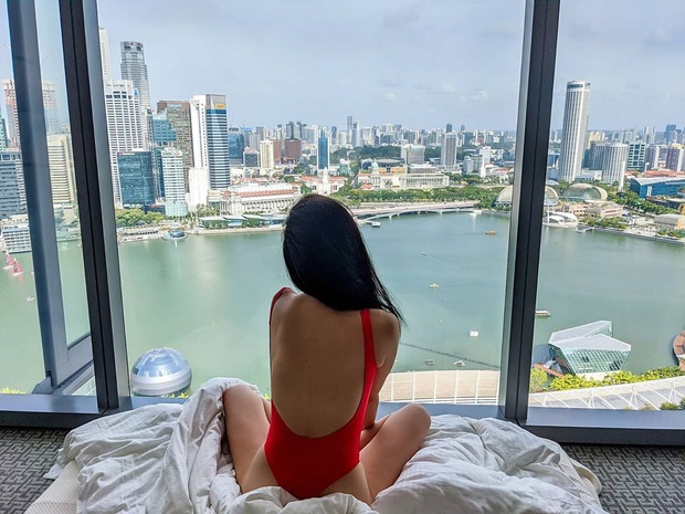 Cuộc sống Tuyết Lan ở Singapore: Đồ hiệu, du lịch chanh sả nhưng gây chú ý nhất là căn hộ cao cấp - Ảnh 9.