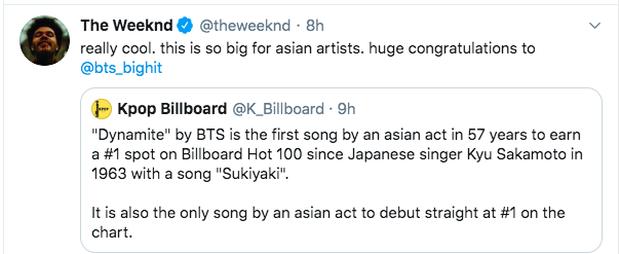 Tổng thống Hàn Quốc chúc mừng BTS làm nên lịch sử mới cho Kpop, loạt sao US-UK cũng phấn khích khen ngợi - Ảnh 9.