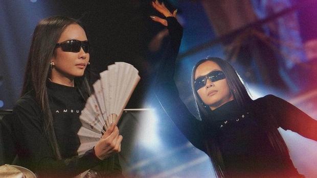 Bỏ cặp kiếng thầy bói, Suboi khoe visual đỉnh cao ở Rap Việt: U mê chữ ê kéo dài! - Ảnh 2.