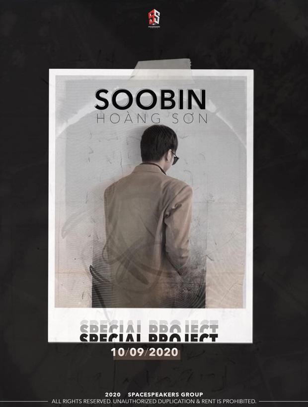 Không hề lên tiếng về nghi vấn hẹn hò Ngọc Thảo, Soobin Hoàng Sơn chỉ lẳng lặng tung poster công bố dự án comeback - Ảnh 3.
