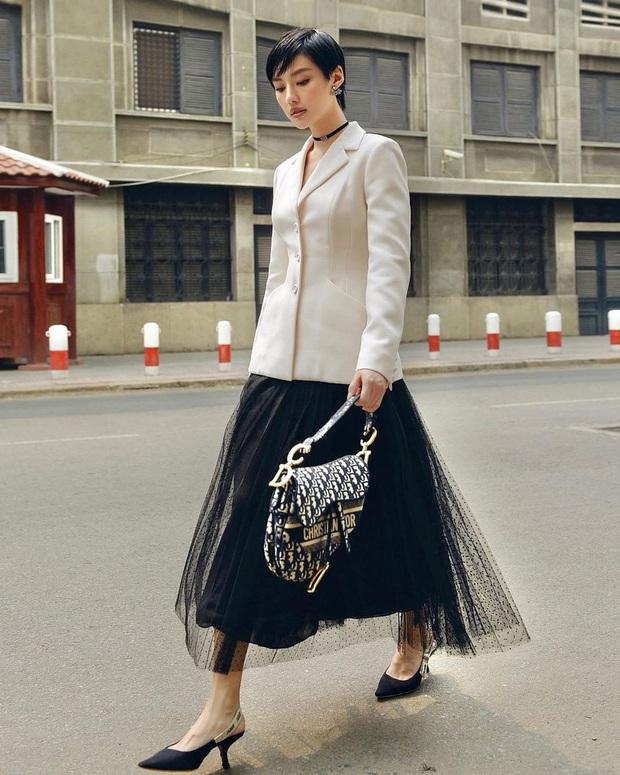 Phạm Hương làm mẫu tại Mỹ thì kỳ nhưng style 3 năm trước cực sang, đến giờ Hương Giang diện lại y chang vẫn đẹp - Ảnh 6.
