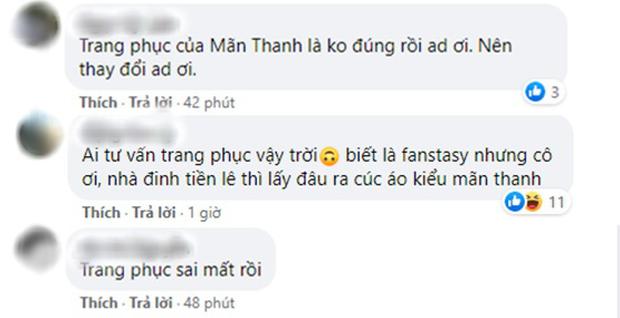 Vừa tung hậu trường, phim dã sử của Thanh Hằng gây tranh cãi vì mang hơi hướng cổ phục Mãn Thanh - Ảnh 6.