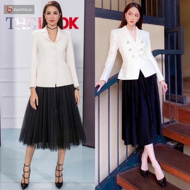 Phạm Hương làm mẫu tại Mỹ thì kỳ nhưng style 3 năm trước cực sang, đến giờ Hương Giang diện lại y chang vẫn đẹp - Ảnh 3.