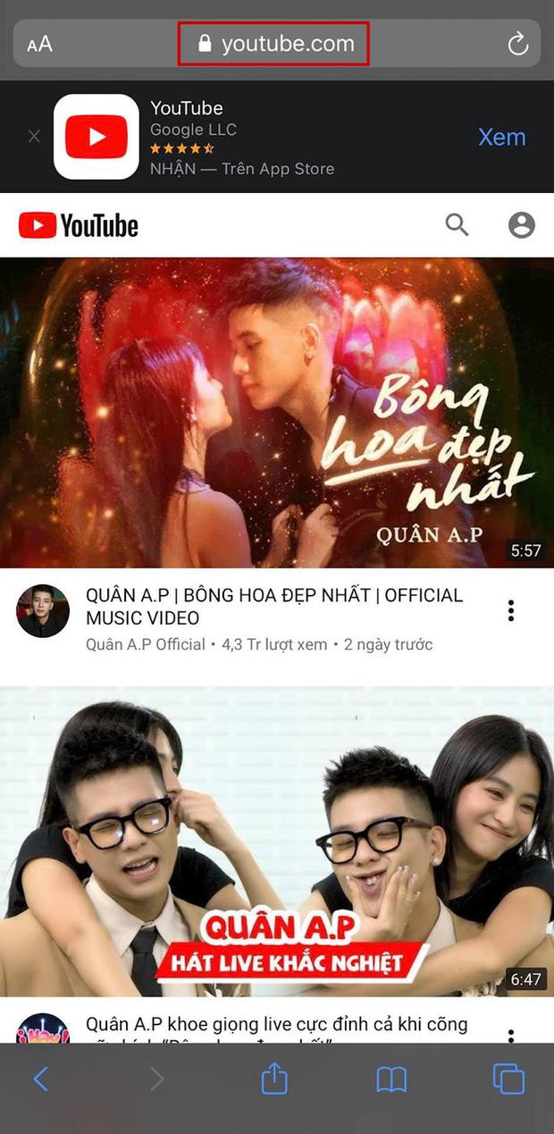 Làm thế nào để nghe nhạc trên YouTube mà không cần mở điện thoại liên tục? - Ảnh 1.