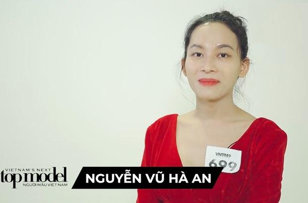 Hé lộ đoạn clip nữ chính Hà An (Người Ấy Là Ai) băng kín người đi thi Vietnams Next Top Model - Ảnh 1.