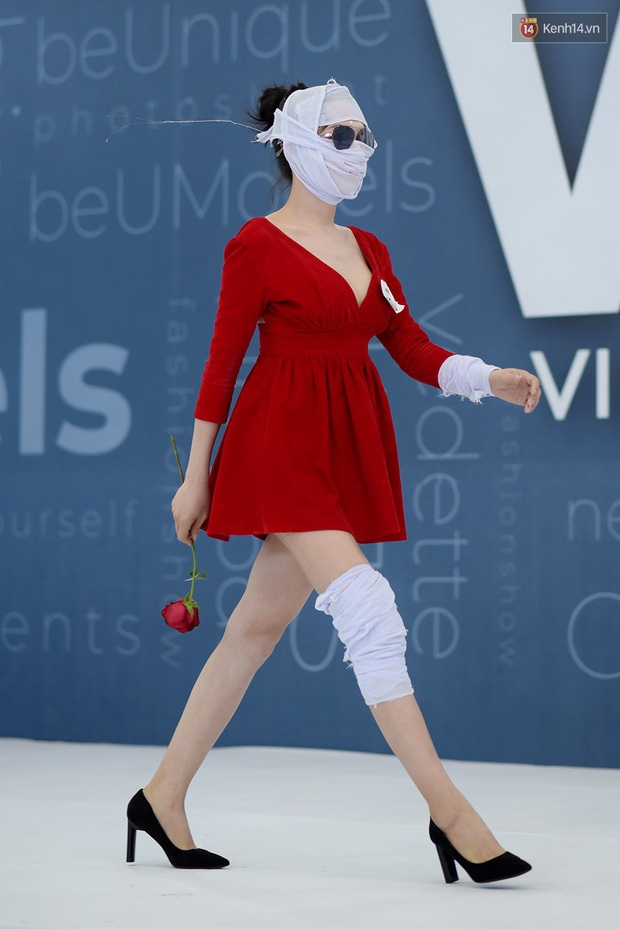 Hé lộ đoạn clip nữ chính Hà An (Người Ấy Là Ai) băng kín người đi thi Vietnams Next Top Model - Ảnh 9.