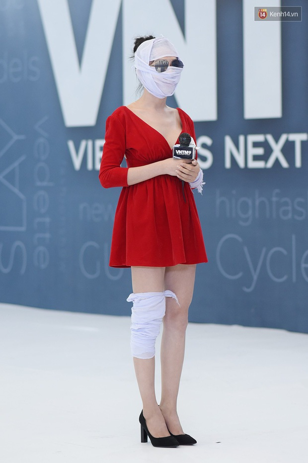 Hé lộ đoạn clip nữ chính Hà An (Người Ấy Là Ai) băng kín người đi thi Vietnams Next Top Model - Ảnh 11.