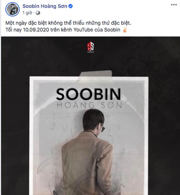 Không hề lên tiếng về nghi vấn hẹn hò Ngọc Thảo, Soobin Hoàng Sơn chỉ lẳng lặng tung poster công bố dự án comeback - Ảnh 2.