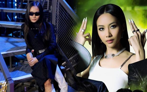 Bỏ cặp kiếng thầy bói, Suboi khoe visual đỉnh cao ở Rap Việt: U mê chữ ê kéo dài! - Ảnh 5.