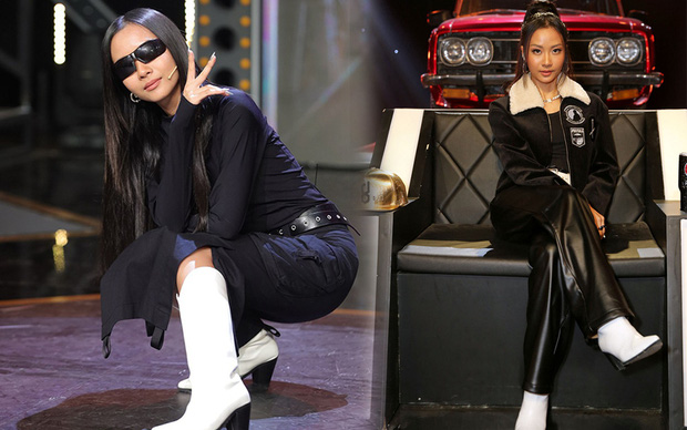 Suboi có thay bao nhiêu bộ đồ ở Rap Việt thì vẫn trung thành với 1 món phụ kiện! - Ảnh 3.