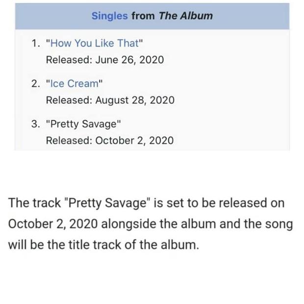 Fan soi ra tên bài hát chủ đề trong full album của BLACKPINK, tên rất hay và thu thập được bằng chứng nhưng có đủ thuyết phục? - Ảnh 1.