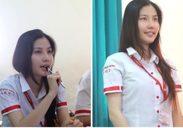 Ảnh quê mùa thời đi học của sao Việt: Người từng bị đánh vì tô son, kẻ vịt hóa thiên nga khó nhận ra - Ảnh 4.