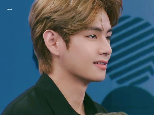 V (BTS) gây sốt suốt 20 phút trên sóng thời sự: Như hoàng tử cổ tích, góc nghiêng trai đẹp nhất thế giới khiến fan xỉu ngang - Ảnh 10.