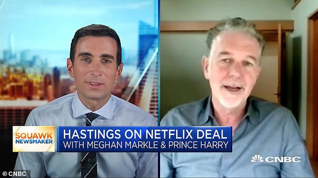 Ông chủ Netflix chính thức lên tiếng về thỏa thuận triệu đô với nhà Sussex, đưa ra đánh giá năng lực của vợ chồng Meghan Markle - Ảnh 1.