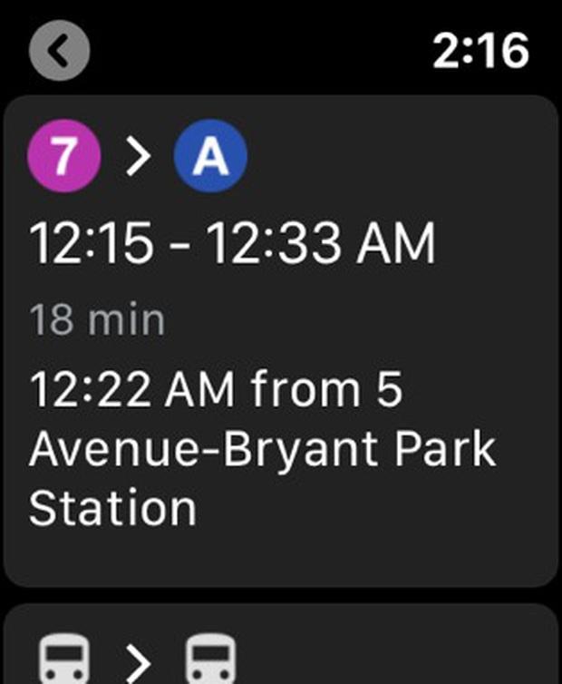 Google Maps xuất hiện trở lại trên Apple Watch - Ảnh 2.