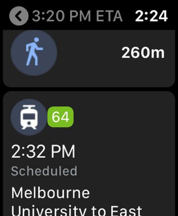 Google Maps xuất hiện trở lại trên Apple Watch - Ảnh 4.