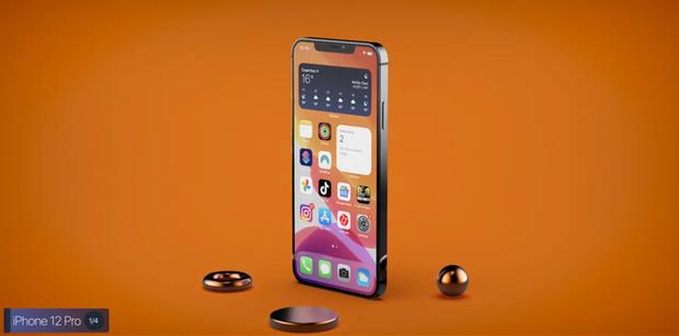 Chiêm ngưỡng concept iPhone 12 Pro lung linh với cụm camera khiến iFan muốn rụng rời - Ảnh 4.