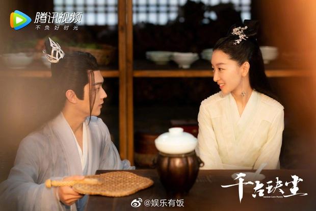 Châu Đông Vũ lên đồ rực rỡ để gả cho Hứa Khải nhưng bị chê không ra dáng mỹ nhân ở hậu trường phim mới - Ảnh 3.