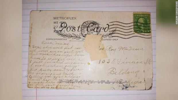 Kiểm tra hộp thư, người phụ nữ bất ngờ khi phát hiện tấm bưu thiếp được gửi từ quá khứ cách đây đến gần... 100 năm - Ảnh 1.