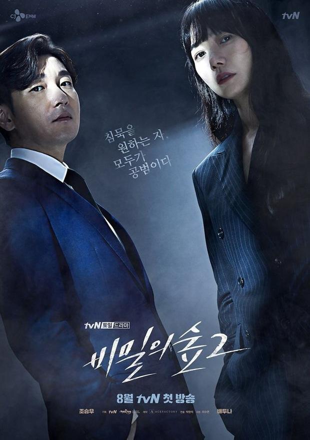 Phim trinh thám của Triệu Lệ Dĩnh tung poster cực nghệ, trông xa như phần 3 của Secret Forest - Ảnh 2.