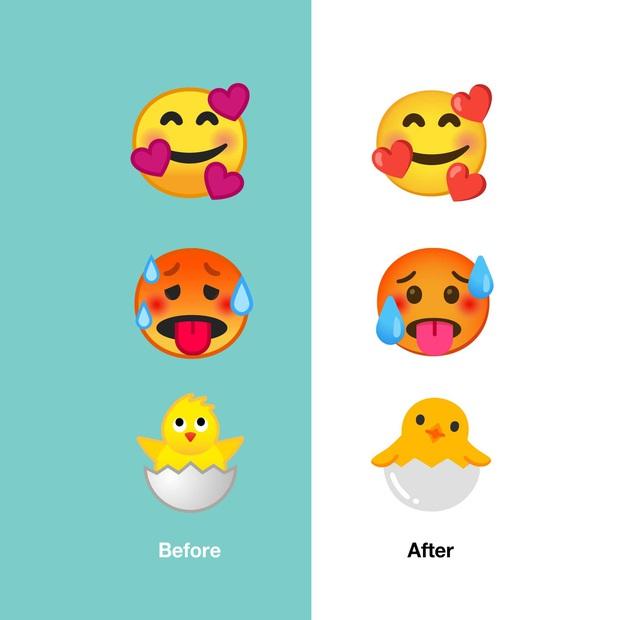 Android 11 ghi điểm với bộ emoji mới đẹp mắt và bớt sến hơn trước - Ảnh 7.