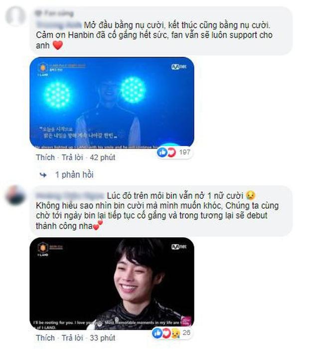 Netizen tiếc nuối khi Hanbin bị loại ở I-LAND: Nếu cậu ấy không rời đi với nụ cười ấy thì đã không đau lòng như vậy - Ảnh 4.