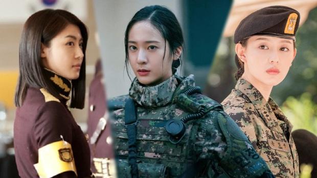 3 chị đại quân nhân ngầu bá cháy ở phim Hàn: Krystal đẹp đấy nhưng chưa gây thương nhớ bằng Trung úy Kim Ji Won - Ảnh 1.